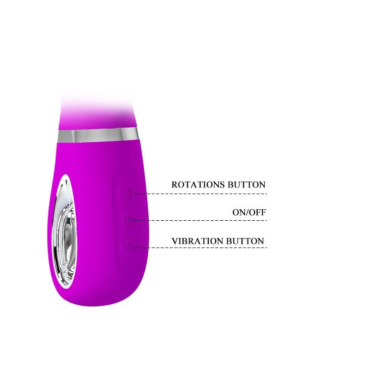 PRETTY LOVE - TERNENCE USB PURPLE 4 rot. 12 vibration