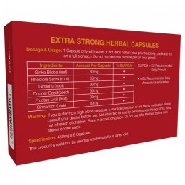 Supl.diety-Extra Strong 6 Capsules