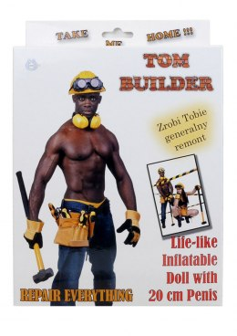 Lalka- Tom - Builder Male Doll